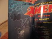 Joss Whedon and Ron Moore signed my comic book