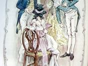 English: Ch 36 of Sense and Sensibility, (Jane Austen Novel): John Dashwood introduce Robert Ferrars to Elinor Français : Ch 36 de Sense and Sensibility, (Jane Austen) John Dashwood présente Robert Ferrars à Elinor