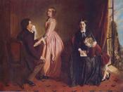 The Governess, Rebecca Solomon, 1854