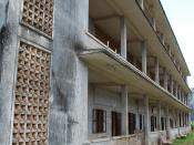 Prison where Pol Pot and the Khmer Rouge tortured and killed thousands of Cambodians.