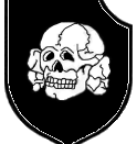 English: Symbol of the 3rd SS Division Totenkopf Deutsch: Symbol der SS-Division Totenkopf