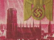 Nazi German propaganda poster:
