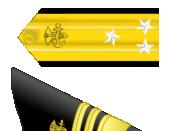 English: United States Public Health Service Vice Admiral insignia
