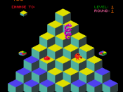 Q*bert from 1982 was one of the first games to use isometric graphics.