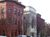 Main Street in Danbury, CT, USA