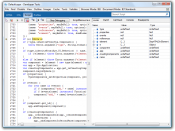 Internet Explorer 8 Developer Tools in a JavaScript debugging session