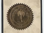 Confederate States of America Treasury Department Seal