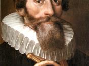 Deutsch: Johannes Kepler war ein deutscher Mathematiker und Optiker.