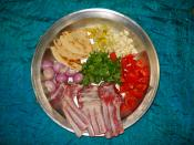 English: Ingredient of Tashreeb