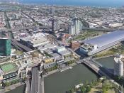 Crown Casino Complex & Melbourne Convention and Exhibition Centre (Panorama)