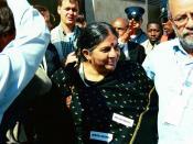 Vandana Shiva in Johannesburg, 2002