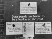 U.S. eugenics poster advocating for the removal of genetic
