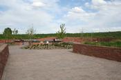 English: The Columbine Memorial in , USA.