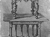 Flemish table.