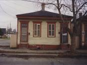 New Orleans: House formerly residence of Buddy Bolden