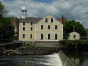 Slater Mill Historic Site - Pawtucket, Rhode Island