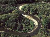 The Cuyahoga River in the Cuyahoga Valley National Park