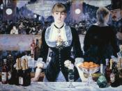 3. A Bar at the Folies-Bergère by Manet, third place