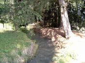 English: Irrigation channel/watercourse