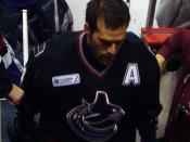 English: Former Vancouver Canucks forward Todd Bertuzzi