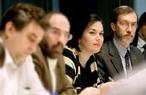 Meeting of homo sapien, carbon-based, bi-peds