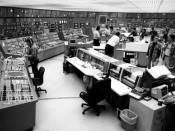 The control room at a U.S. nuclear power plant.