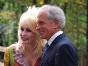 Dolly Parton and Bob Corker at the rededication ceremony for the Great Smoky Mountains National Park