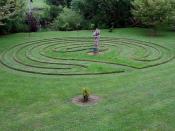 Labyrinth at Wychwood