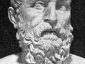 Solon, creator of the Solonian Constitution of Athens which incorporated the first elements of formalised civil democracy in world history