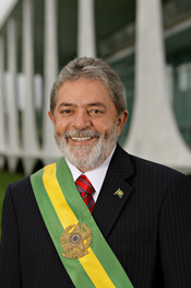 Luiz Inácio Lula da Silva, 35th President of the Federative Republic of Brazil.
