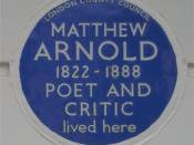 English: Blue plaque to Matthew Arnold on his house at 2 Chester Square, London, England. Photographed by me 29 September 2006. Oosoom