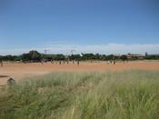 English: Intramural football match at the University of Botswana in Gaborone, Botswana