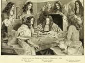 English: Sealing of the Bank of England Charter (1694)