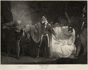 Winter's Tale, Act II, scene III, (engraving after Opie for the Boydell Shakespeare Gallery)
