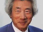 English: A cropped image of Junichiro Koizumi from File:Luiz Koizumi 2010.jpg