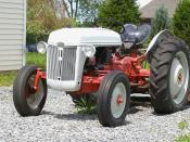English: Ford-Tractor (unidentified model of the N series).