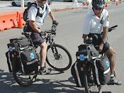 English: Bicycle paramedics, Los Angeles, California.