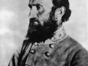 Stonewall Jackson (between 1861 and 1863).