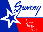 Flag of Sweeny, Texas