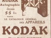 Kodak advertisement