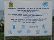 Sri Lanka : Trincomalee : UNICEF (& Back-office Boiler-Room.)