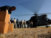 U.S. relief supplies arrive in Haiti