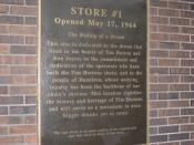 Site of first Tim Horton's store, Ottawa Street North, Hamilton, Ontario