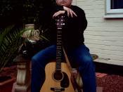 Johnny Cashbox arms across Martin