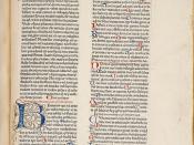 Biblia sacra - Page de texte