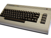 Commodore 64 computer (1982). Français : Ordinateur Commodore 64. Nederlands: Commodore 64-computer. Suomi: Commodore 64-tietokone.