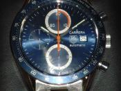 TAG Heuer Carrera automatic chronograph with tachymeter