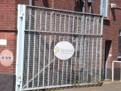 Rolfe Street, Smethwick - gate - Sandwell Metropolitan Borough Council