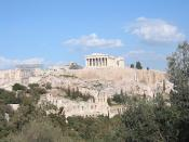 The Acropolis, directly influencing architecture and engineering in Western, Islamic, and Eastern civilizations up to the present day, 2400 years after construction.