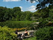English: Lower Central Park at 1:00 p.m. Photographer's blog post about new photos of Central Park for Wikipedia.